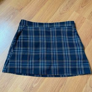Plaid Mini Skirt (Forever 21)